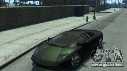 Lamborghini Murcielago LP640 2007 for GTA 4