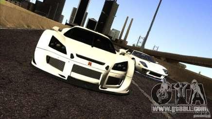 Gumpert Apollo белый for GTA San Andreas