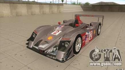 Audi R10 LeMans - Stock for GTA San Andreas