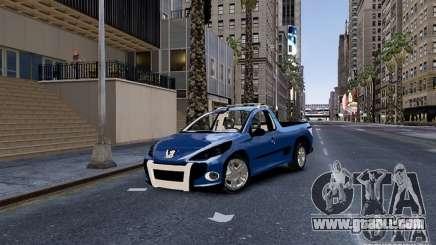 Peugeot Hoggar Escapade for GTA 4