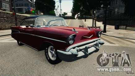 Chevrolet Bel Air Hardtop 1957 Light Tun for GTA 4