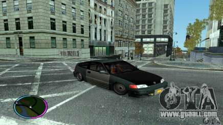 Honda CRX Tuned for GTA San Andreas