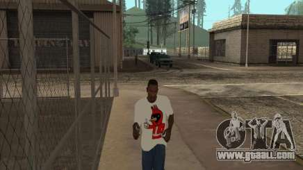 Omsk bird t-shirt for GTA San Andreas