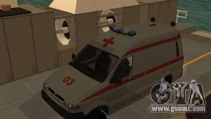 UAZ Simba SC ambulance for GTA San Andreas