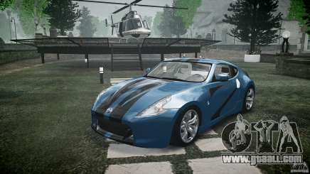 Nissan 370Z Coupe 2010 for GTA 4