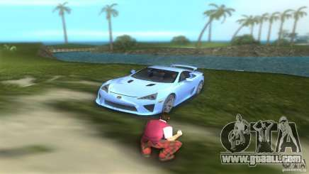 Lexus LFA for GTA Vice City