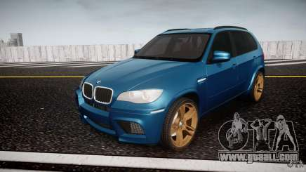BMW X5 M-Power wheels V-spoke for GTA 4