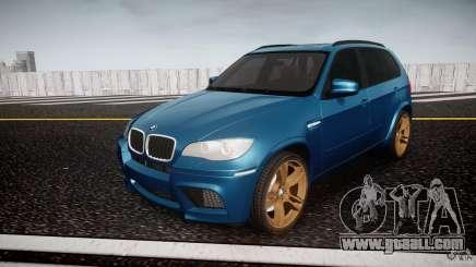 BMW X5 M-Power wheels V-spoke for GTA 4