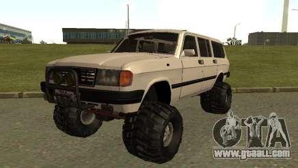 31022 Volga GAS 4 x 4 for GTA San Andreas
