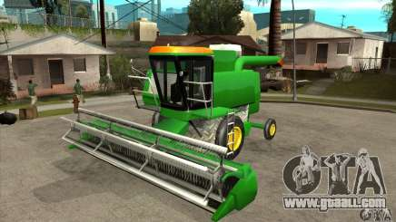 Combine Harvester Retextured for GTA San Andreas