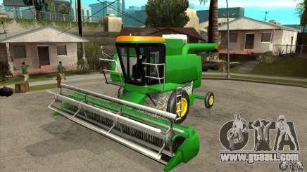 Combine Harvester Retextured for GTA San Andreas