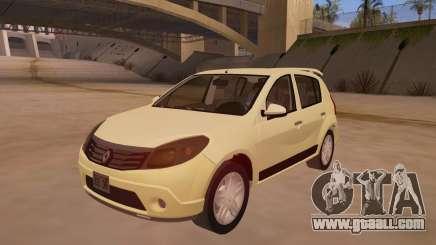 Renault Sandero for GTA San Andreas