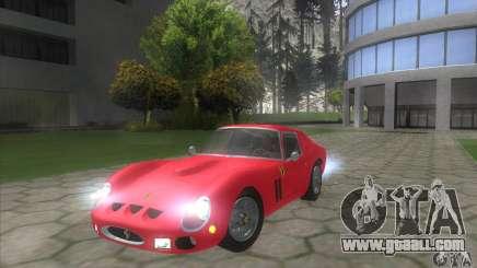 Ferrari 250 GTO 1962 for GTA San Andreas