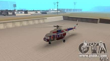 MI-17 civil (English) for GTA San Andreas