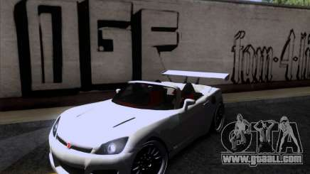 Saturn Sky Roadster for GTA San Andreas