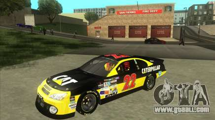 Dodge Nascar Caterpillar for GTA San Andreas