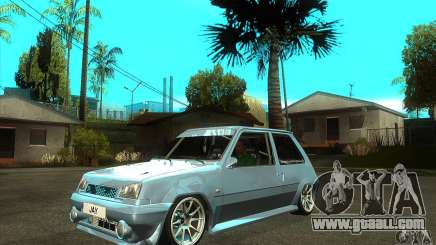 Renault 5 Tuned for GTA San Andreas