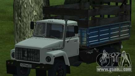 GAZ 3309 white for GTA San Andreas