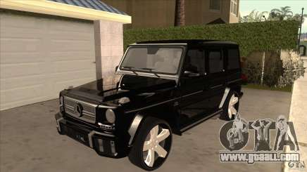 Mercedes-Benz G65 Asanti AF144 for GTA San Andreas