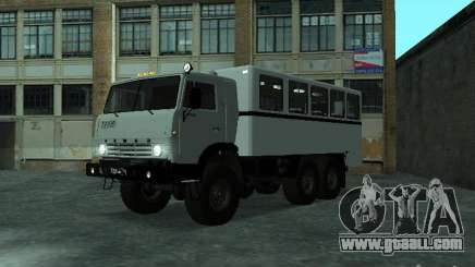 KAMAZ 4310 Watch for GTA San Andreas
