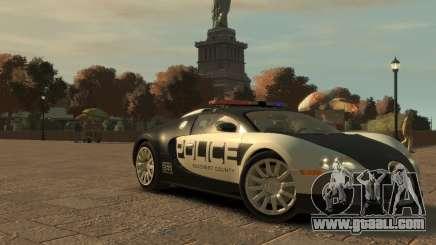 Bugatti Veyron Police [EPM] for GTA 4