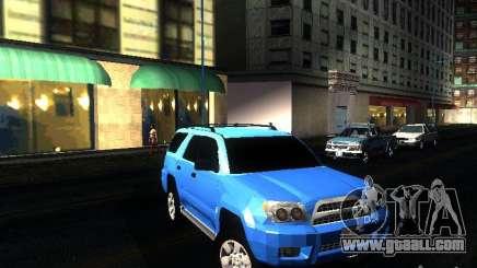 Toyota 4Runner 2009 for GTA San Andreas