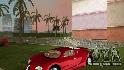 Bugatti Veyron for GTA Vice City
