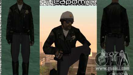HQ skin lapdm1 for GTA San Andreas