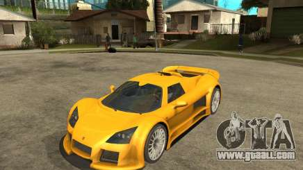 Gumpert Appolo for GTA San Andreas