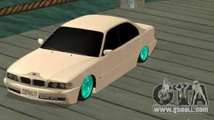 BMW 750i JDM for GTA San Andreas
