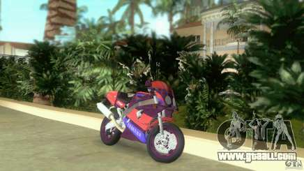 Yamaha FZR 750 midnight black for GTA Vice City