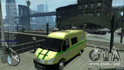 Gazelle 2705 transportation services for GTA 4