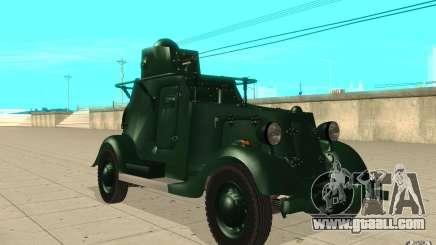 BA-20 for GTA San Andreas