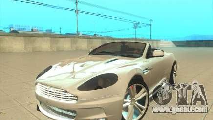 Aston Martin DBS Volante 2009 for GTA San Andreas
