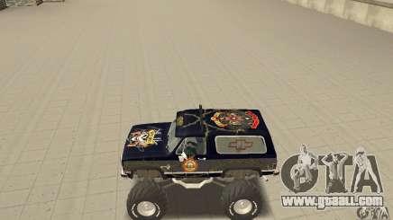 Chevrolet Blazer K5 Monster Skin 2 for GTA San Andreas