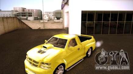 Dodge Dakota tuning for GTA San Andreas