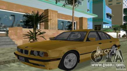 BMW 540i e34 1992 for GTA Vice City