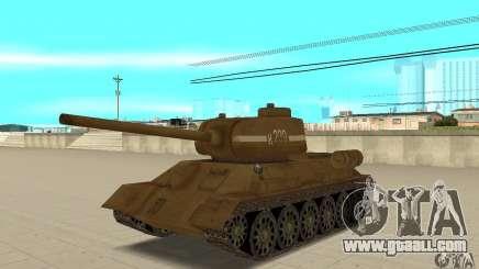 Tank T-34 for GTA San Andreas