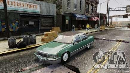 Cadillac Fleetwood 1993 for GTA 4