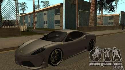 Ferrari 430 Scuderia Novitec for GTA San Andreas