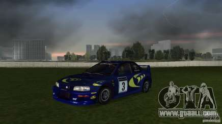 Subaru Impreza 22B Rally Edition for GTA Vice City