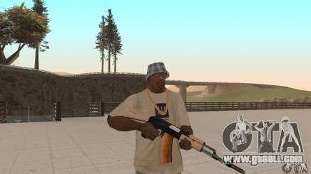 AK 47 for GTA San Andreas