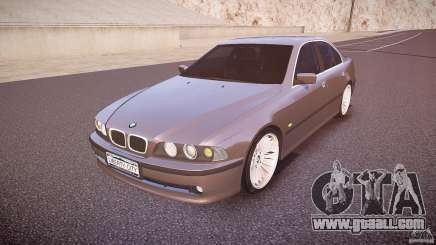 BMW 530I E39 stock white wheels for GTA 4