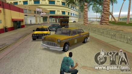 Cabbie HD for GTA Vice City