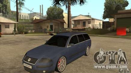 Volkswagen Passat B5.5 2.5TDI 4MOTION for GTA San Andreas