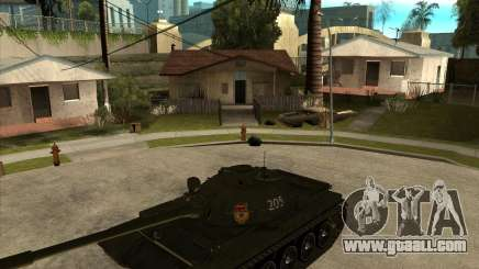 T-55 for GTA San Andreas