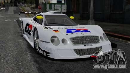 Mercedes-Benz CLK LM 1998 for GTA 4