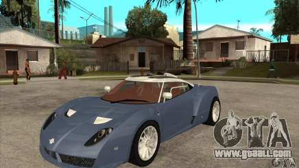 Spyker C12 Zagato for GTA San Andreas