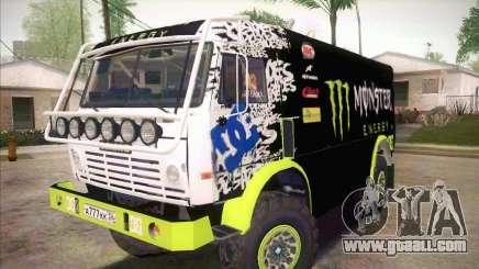 KAMAZ Master 4911 Monster Energy for GTA San Andreas