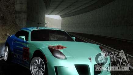 Pontiac Solstice Falken Tire for GTA San Andreas
